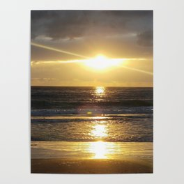 Carmel Sunshine Vortex Poster