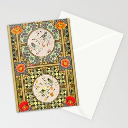 Natures Bird Paterns  Stationery Cards