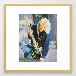 Cobain - Grunge God Framed Art Print
