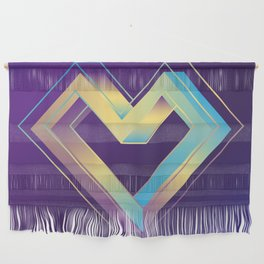 le coeur impossible (nº 3) Wall Hanging