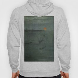 Nocturne - Blue and Gold, Southampton Water by James McNeill Whistler Hoody