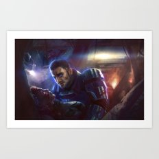 Mass Effect - Rescue Art Print