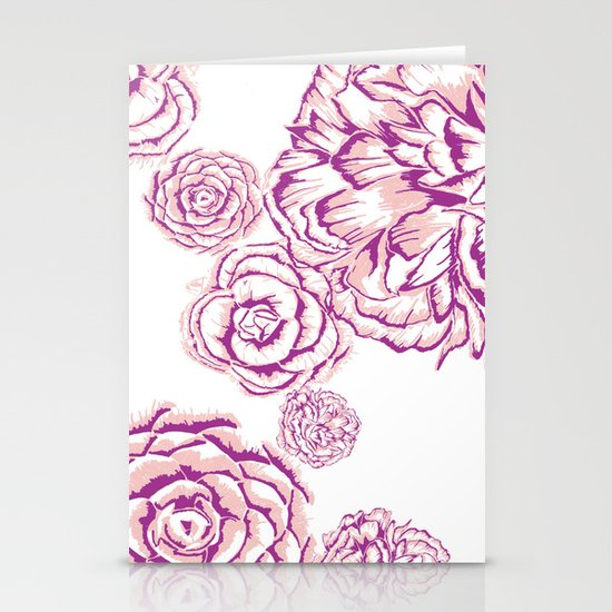 Bloom - Pink Stationery Cards