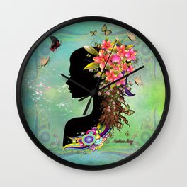 Ladies Fantasy Fashion  Wall Clock