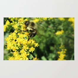 Bee and Goldenrod Rug