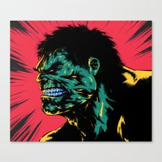 Hulk - Green Canvas Print