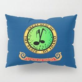 Musical Idaho State Flag Pillow Sham