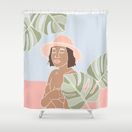 Naked Beauty Shower Curtain