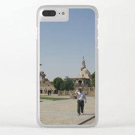 Temple of Luxor, no. 9 Clear iPhone Case