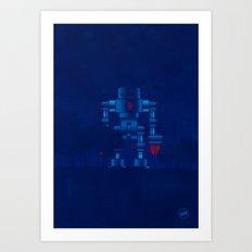 big robot Art Print