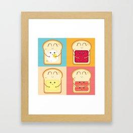 Love your Breakfast Framed Art Print