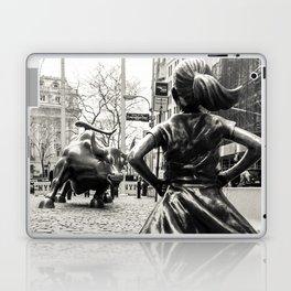 Fearless Girl & Bull - NYC Laptop & iPad Skin