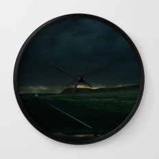 Driving Rain Wall Clock