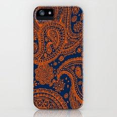 Auburn Paisley Slim Case iPhone (5, 5s)