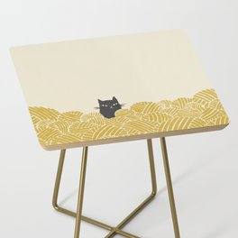 Cat and Yarn Side Table
