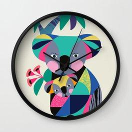 Baby Koala ll Wall Clock