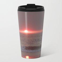 sun sleeping in the sea Travel Mug
