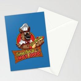 Hot Dog Time! Stationery Cards