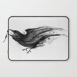 Splatter Crow Laptop Sleeve