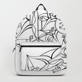 Eye of Horus Mandala Backpack