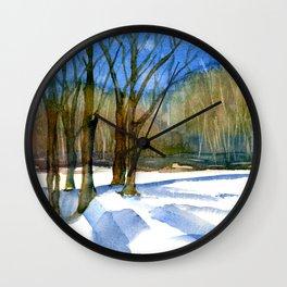A Winter's Tale Wall Clock