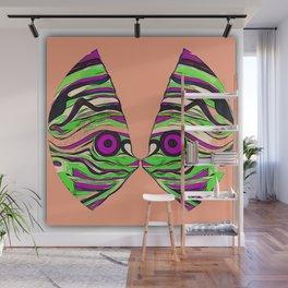 Tropical fish kiss Wall Mural