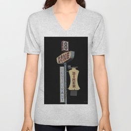 Dine Sign Unisex V-Neck