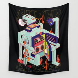 Super Kitchen 2 Wall Tapestry