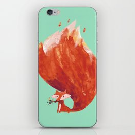 Kitsune (Fox of fire) iPhone Skin