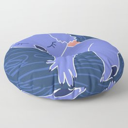 Love Planet Love Animals Koala Sleeping Floor Pillow