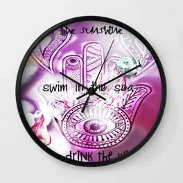 Beach Life Wall Clock