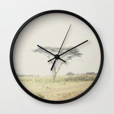 faded::kenya Wall Clock
