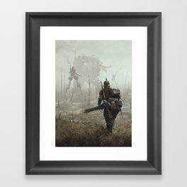 1920 - no man's land Framed Art Print