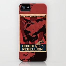 Boxer Rebellion  iPhone Case