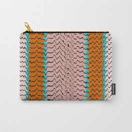 Abstract Waves II Carry-All Pouch