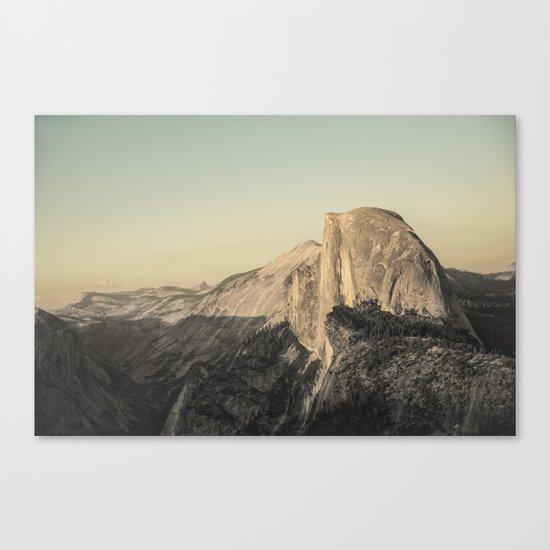 Half Dome IV Canvas Print