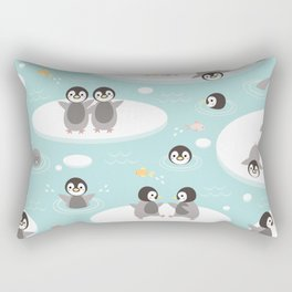 Penguins and seals Rectangular Pillow
