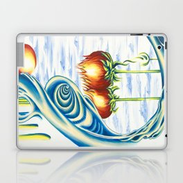Poppie Flowers Laptop & iPad Skin