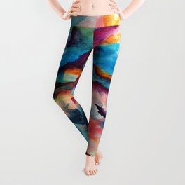 Creativity Breaching the Void Leggings