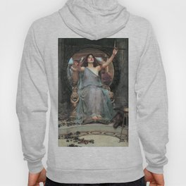 John William Waterhouse - Circe Offering the Cup to Ulysses Hoody