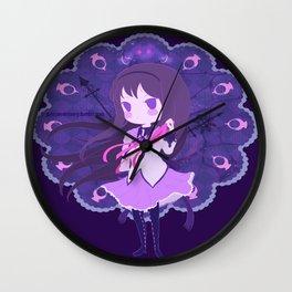 Homura Akemi Wall Clock