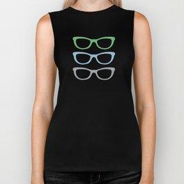 Sunglasses at Night Biker Tank
