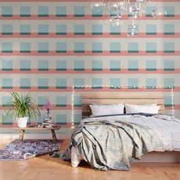 Blue Square Wallpaper