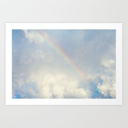Over the rainbow you'll find me... Art Print