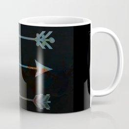arrow minded texturized Coffee Mug