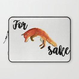 For Fox Sake Laptop Sleeve