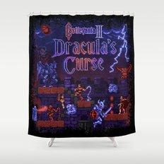 Curse Vania Dracula's Castle 3 Shower Curtain