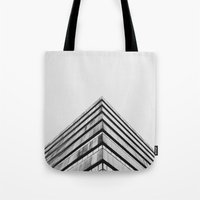 divergent Tote Bags featuring Divergent by Stijn Dijkstra