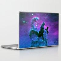 nebula Laptop & iPad Skins featuring Nebula Purple Blue Pink by 2sweet4words Designs