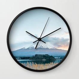 Mountain Fuji Wall Clock